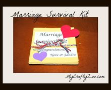 DIY Marriage Survival Kit