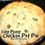 Chicken Pot Pie: Easy Peasy & Super Yummy!
