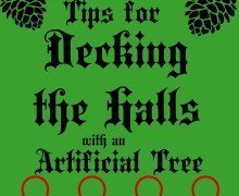Artificial Christmas Tree Tips