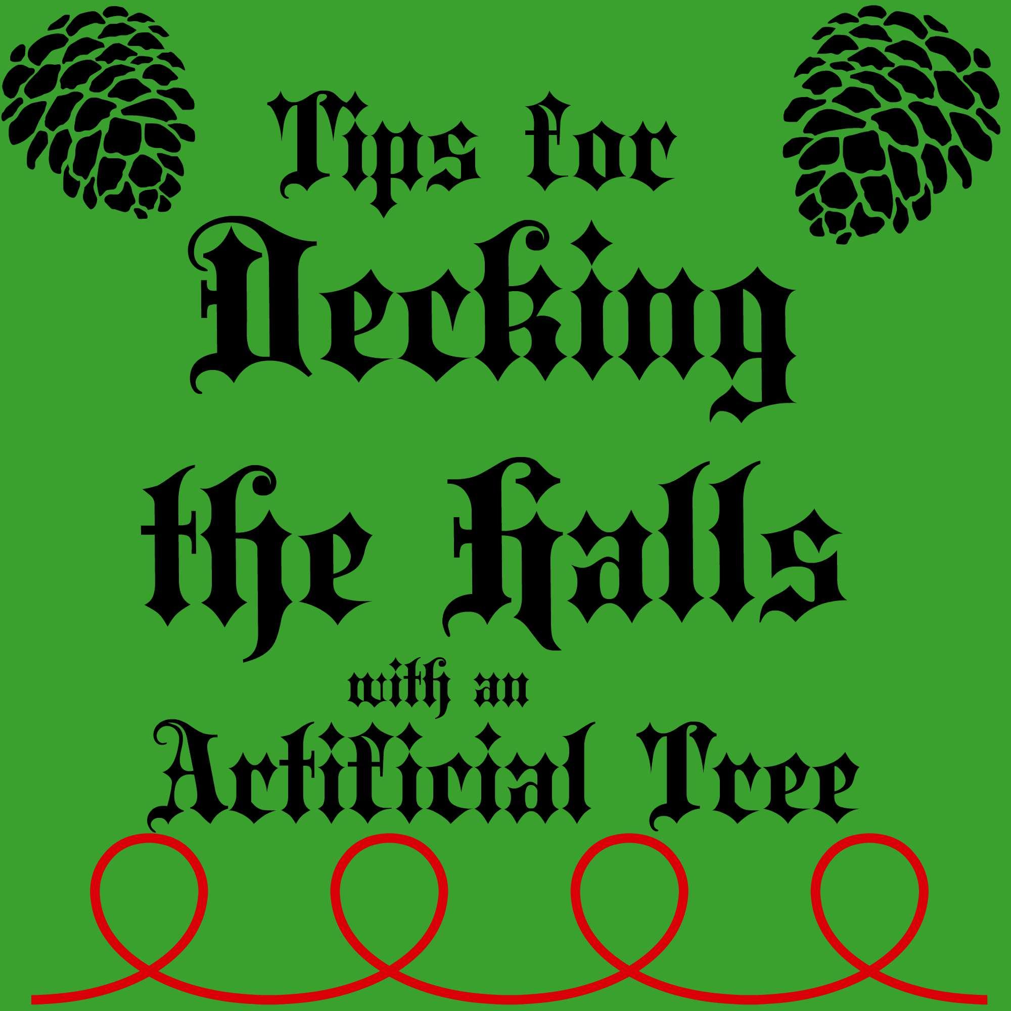 Artificial Christmas Tree Tips
