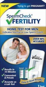 Sperm Check Male Fertility Test Info