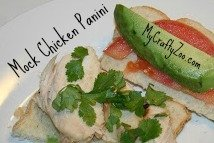 Mock Chicken Panini