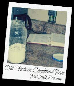 Old Fashion Cornbread Mix