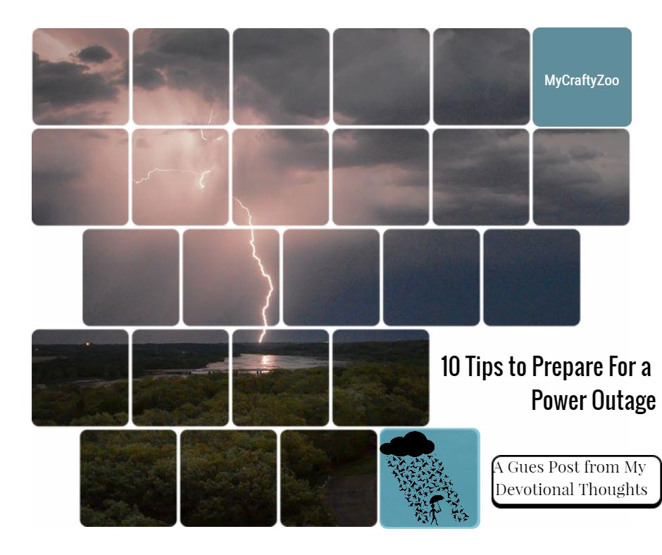10 Tips to Prepare for a Power Outage