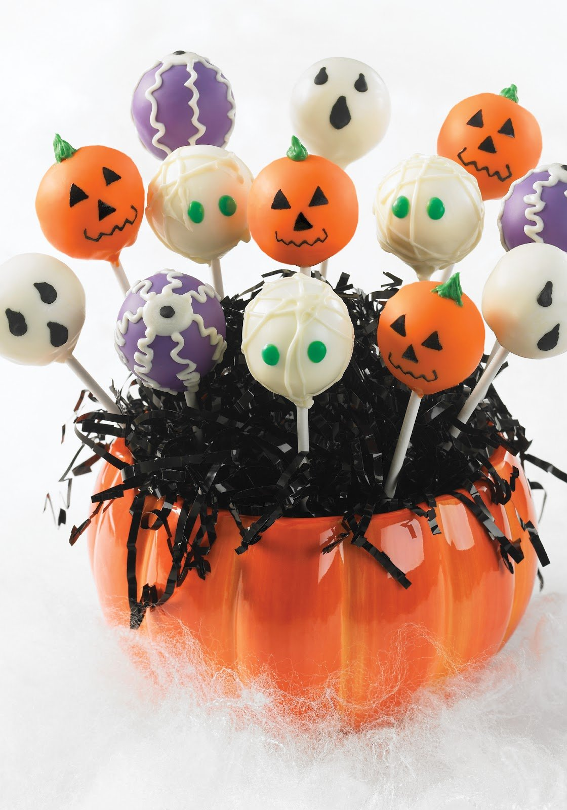 DIY Easy Halloween Cake Pops
