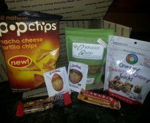 My April Box from #foodiepenpals