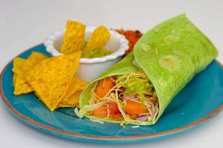 Fast Fixin' Chicken Verde Wrap Recipe