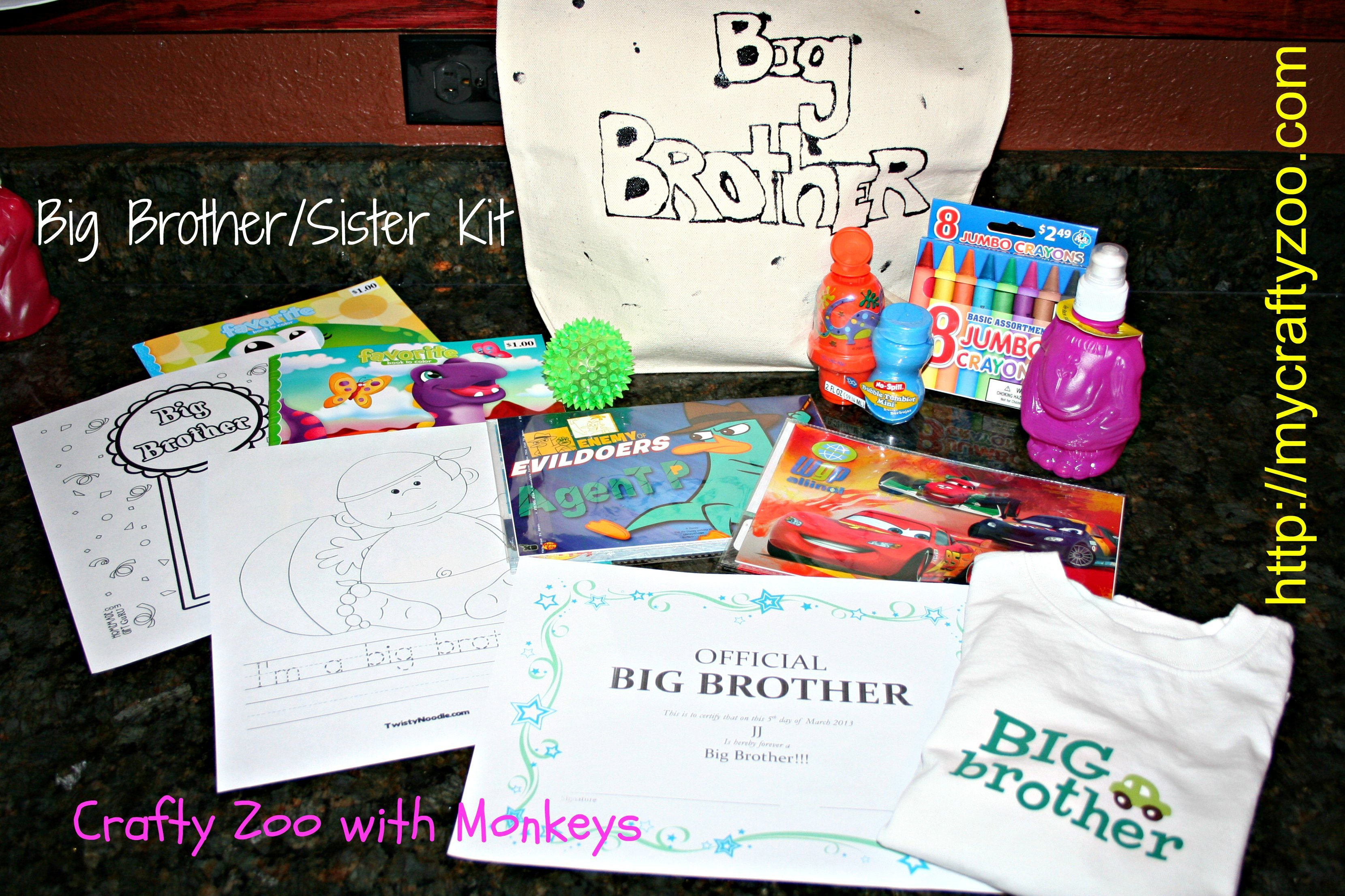 Big Brother/Big Sister Kits