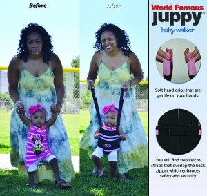 Juppy Baby Walker: No More Aching Backs! @TheJuppyWalker