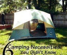 6 Camping Necessities You Didn't Know You Needed
