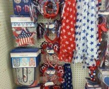 Dollar Tree Patriotic Wreath