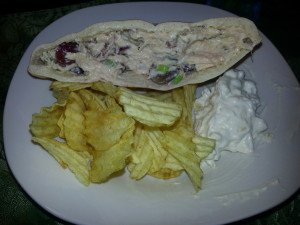 Pita Chicken Salad Sammiches