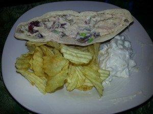 Pita Chicken Salad Sammiches