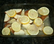 Lemon Chicken & Potatoes