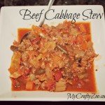Beef Cabbage Stew & Daregal Fresh Frozen Herbs