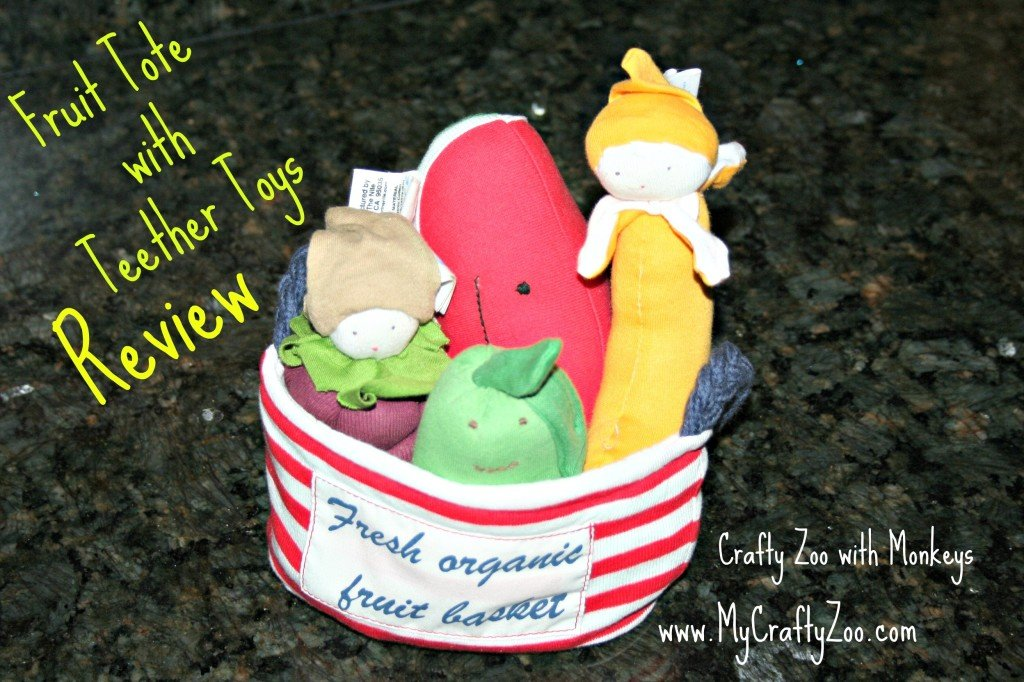 Fruit Tote with Teether Toys