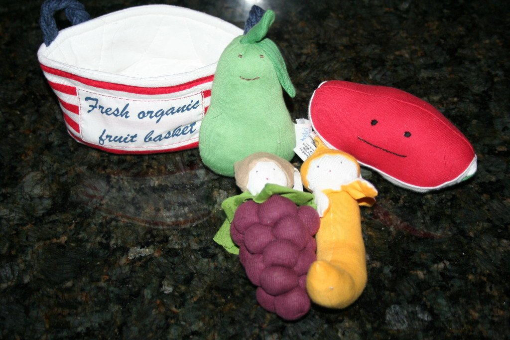 Fruit Tote & Teething Toys!