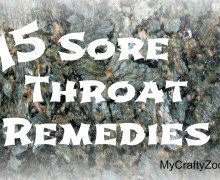 15 Ways To Help Heal a Sore Throat