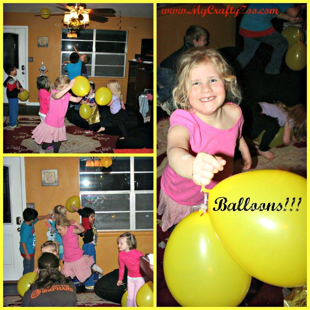 Disney Side Balloon Fun!