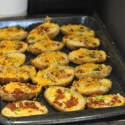 Twice-Baked Potatoes A Recipe by Mike Hartner