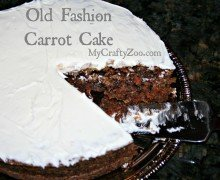 Old Fashion Carrot Cake *Dairy-Free*