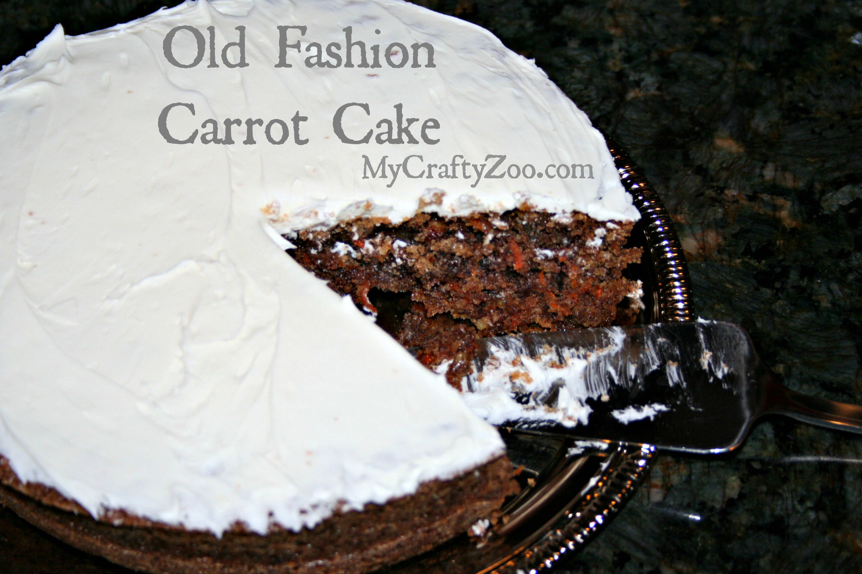 Old Fashion Carrot Cake *Dairy-Free*