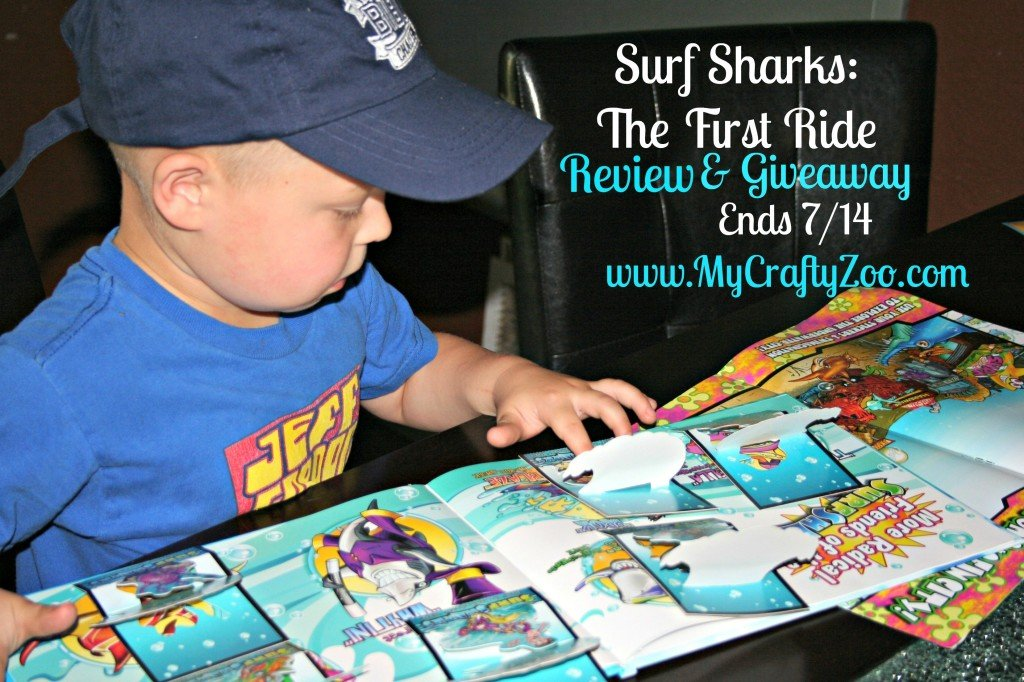 Surf Sharks Giveaway US Ends 7/14