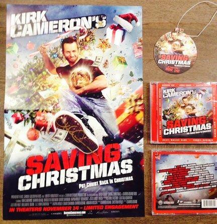 #SavingChristmas Movie Review with #KirkCameron