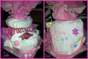DIY Diaper Cake Tutorial