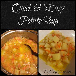Quick & Easy Potato Soup (Dairy Free)