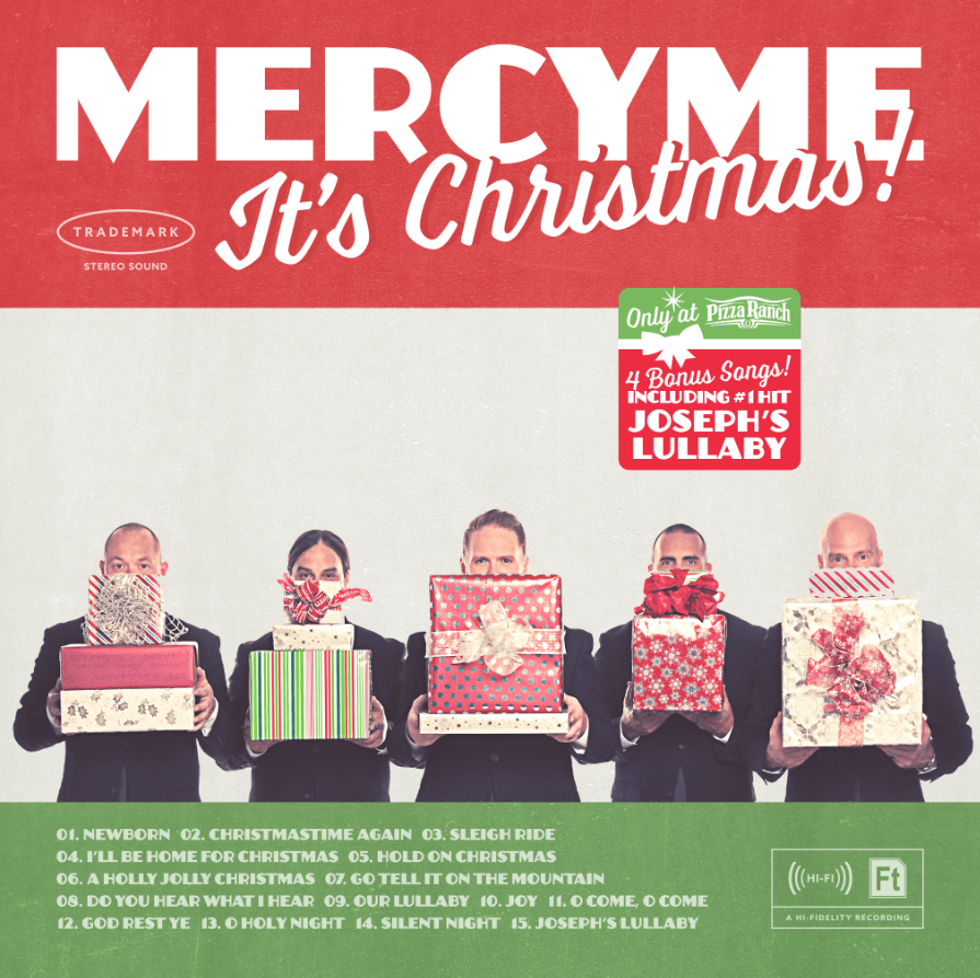 #MercyMe Christmas CD: It's Christmas!