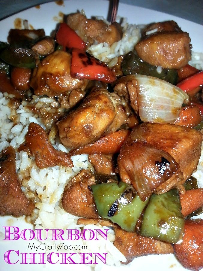 bourbonchicken Bourbon Chicken & Veggies