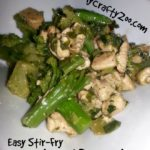 Super Easy Yummy Stir-Fry Chicken & Broccoli