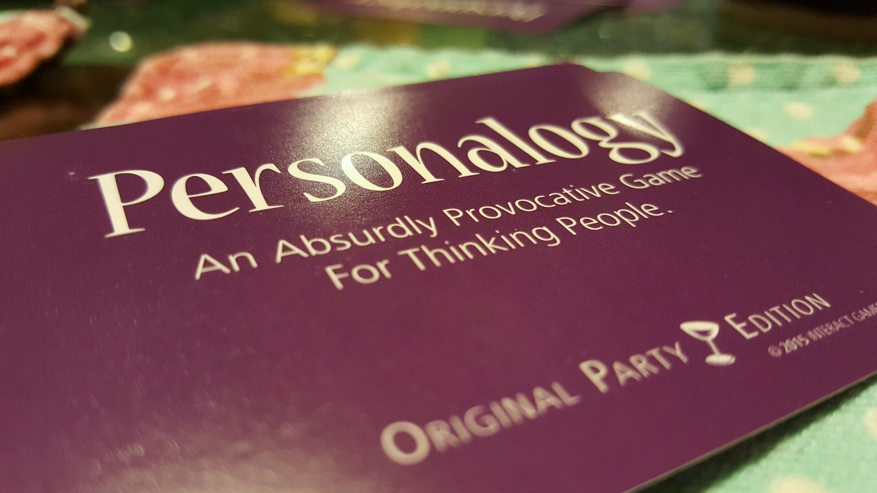 Havin' a Blast with #Tryology and #Personalogy