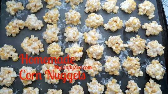 DIY Homemade Corn Nuggets Gast Station