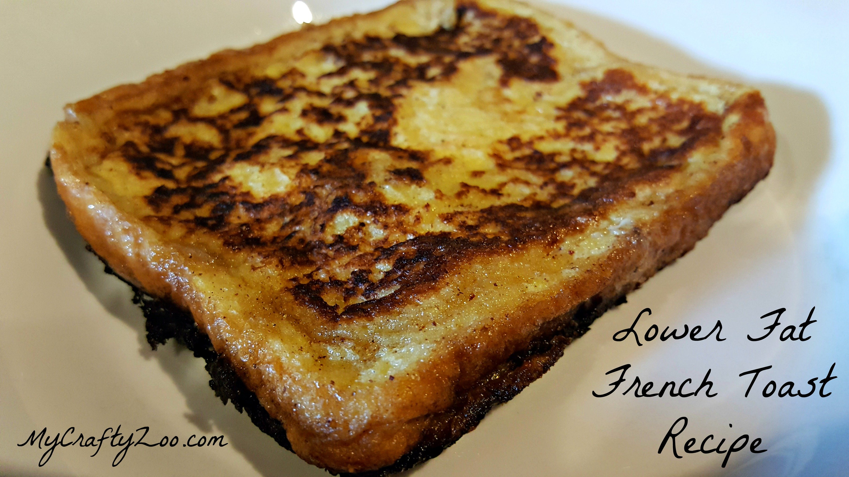 frenchtoast Lower Fat Dairy Free (if you please) French Toast Recipe
