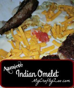 Aamlete Indian Omelet
