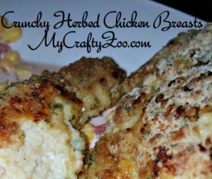 CrunchyHerbedChickenBreasts-300x253 Crunchy Herbed Chicken Breasts