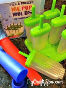 IceWabanga Ice Pop Molds Review by My Crafty Zoo