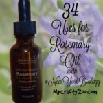 34 Uses for Rosemary Oil with #NewYorkBiology