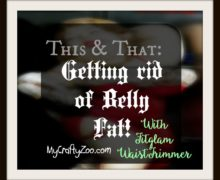 This & That: Getting Rid of Belly Fat with Fitglam #WaistTrimmer!