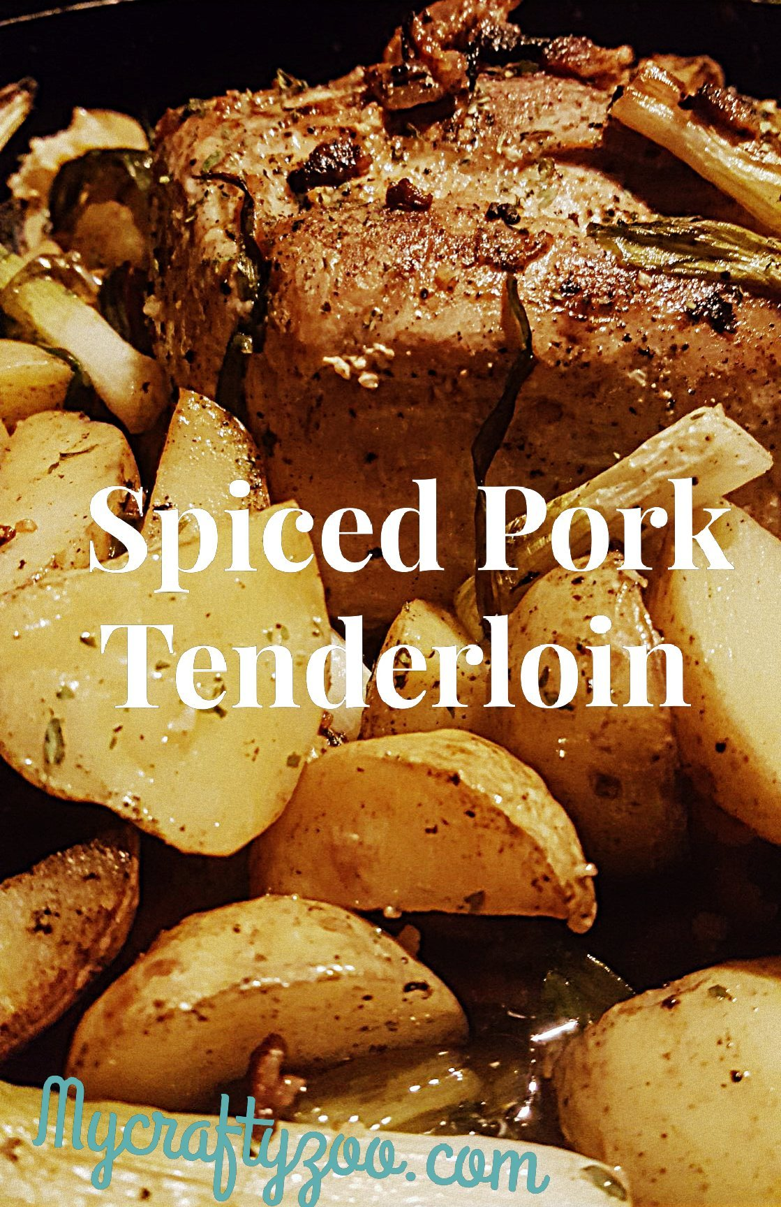 Spiced Pork Loin