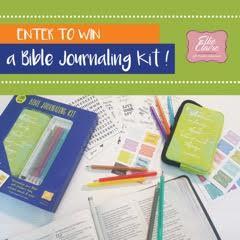 Bible Journal Kit Giveaway