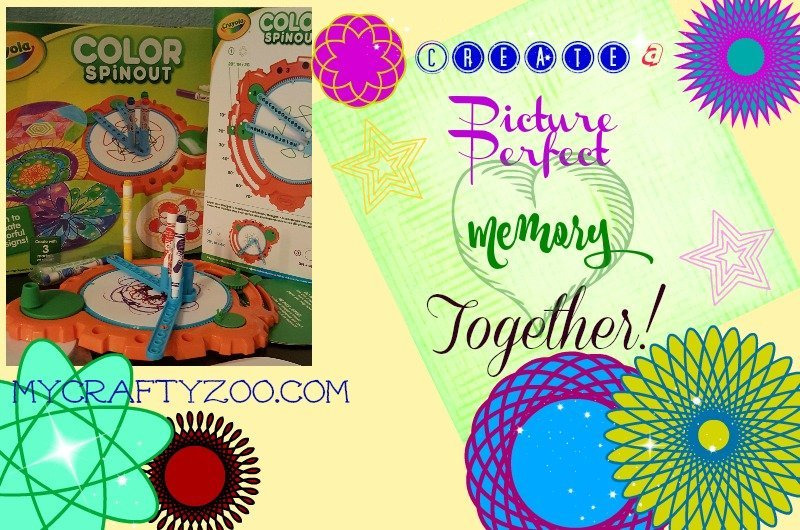 Picture Perfect Memories with Crayola Spin Out