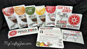 Wild Zora Jerky Organic, Gluten Free, Dairy Free, No Nuts! No soy! Paleo Friendly! Yum!