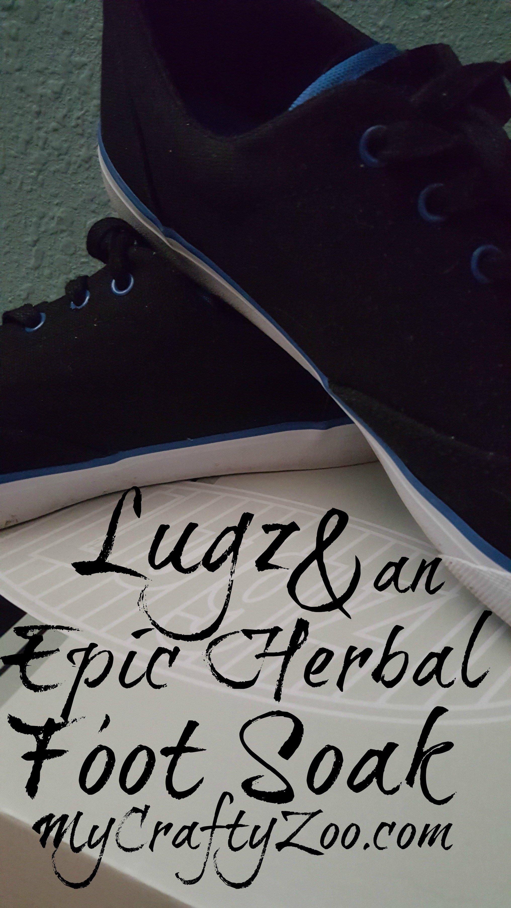 Feeling Lucky? @LugzNYC & an Herbal Foot Soak!