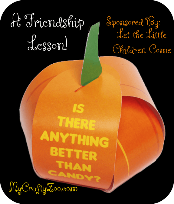 Friendship Lesson for the Kiddos! #HalloweenTract