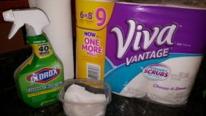 DIY Wipes for Pennies with @Viva @Clorox & @Wal-Mart!