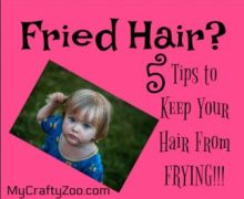 Fried Hair? 5 Tips to Keep Your Hair From FRYING!!!