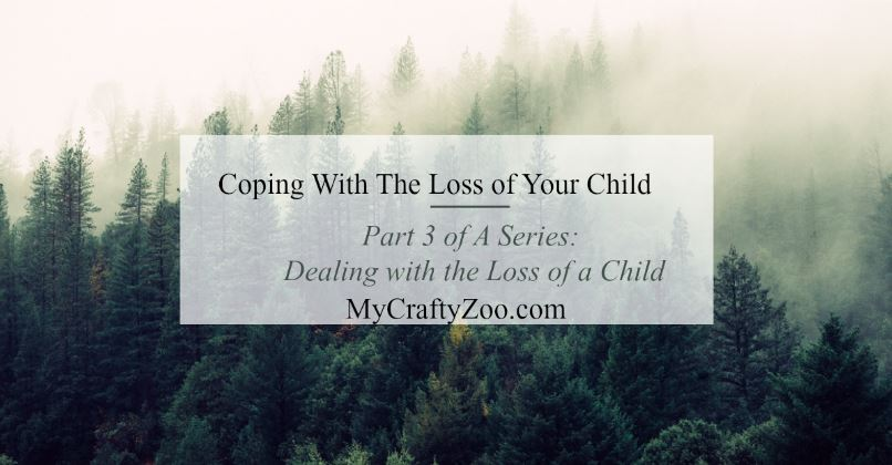 Coping with the loss of a child is debilitating. These are some things that helped me and my hope is they help you if you or someone you know is on this journey